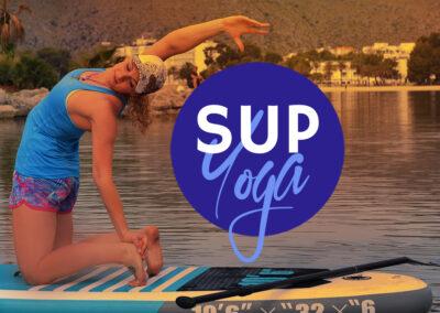 SUP Yoga Veranstaltungen auf dem Main