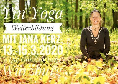Yin Yoga Weiterbildung im März