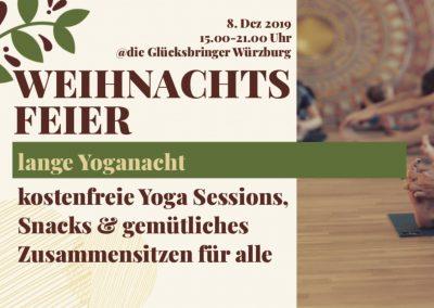 08.12.19 Lange Yoganacht & Weinachtsfeier