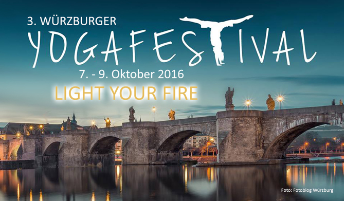 """Light your fire"" beim 3. Würzburger Yogafestival"