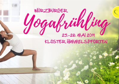 25.-26.05.2019 / Würzburger Yogafrühling